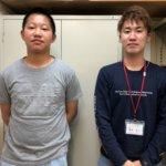2020夏 中学3年 髙山遼樹さん吉冨先生