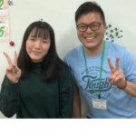 2020夏 中学3年 前田彩楓さん 小原先生