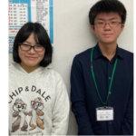 2020夏 中学3年 北川裕理さん 香庄先生