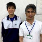 2020夏 中学3年 駒澤昴さん 大木先生