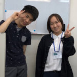 2020夏 中学3年 粟野翔さん 櫻井先生