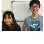 2020夏 小学6年 辻田萌歌さん 末本先生