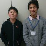 2020夏 中学3年 川﨑圭悟さん 蟹井先生