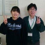 2020夏 中学2年 斉藤凜さん 小林先生