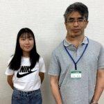 2020夏 中学3年 大久保楓香さん 大木先生