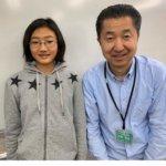 2020夏 中学2年 鳥居千夏さん 田崎先生