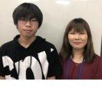 2020夏 中学3年 西原生海さん角矢先生