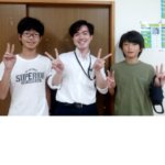 2020冬 中学3年 (右)佐藤諒太さん オンライン授業