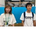 2020冬 高校1年 前田悠童さん 田中先生