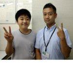 2020冬 中学3年 宗形大裕さん 遠藤先生