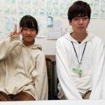 2020冬 中学2年 藤枝寧々さん 金羽先生