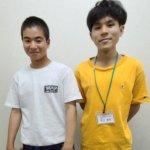2020冬 中学3年 古谷未来さん 松田先生
