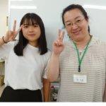 2020冬 中学3年 大﨏理子さん 林先生