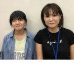 2020冬 中学2年 山端真央さん和坂先生