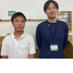2020冬 中学2年 谷駿さん 原山先生