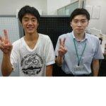 2020冬 中学3年 貴志卓人さん西山先生