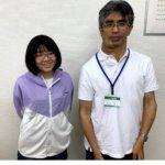 2020冬 中学2年 福田未來さん 大木先生