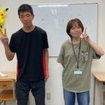 2020冬 中学3年 浅岡諒真さん 熊田先生
