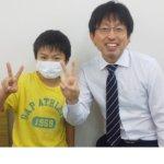 2020冬 小学6年 仲村公佑さん 濵田先生