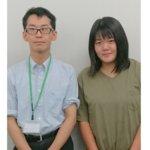 2020冬 中学3年 宮下栞さん 阪口先生
