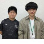 2020冬 中学2年 青木陸さん 三木先生