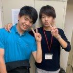 2020冬 中学3年 粟野翔さん 坂下先生