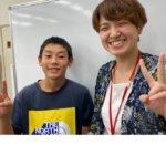 2020冬 中学2年 菊池ライさん 成松先生