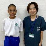 2020冬 中学2年 菊池優太さん 矢島先生