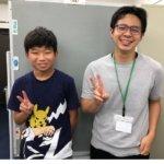 2020冬 中学3年 岡﨑拓海さん 堀井先生