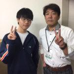 2020冬 中学3年 小林弥真斗さん 小林先生