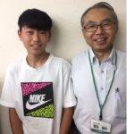 2020冬 中学3年 杉本龍弥さん 廣田先生