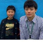 2021春 小学4年 池内魁さん 山本先生