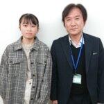 2021春 中学3年 藤平あずささん 髙橋先生