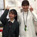 2021春 高校3年 難波志帆さん 宮田先生