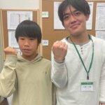2021春 中学3年 松岡勇太さん 中津先生