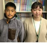 2021春 中学3年 阪口凛太郎さん 河田先生