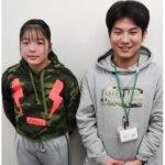 2021春 中学3年 西村優那さん 秋山先生