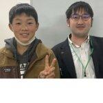 2021春 中学3年 和田悠希さん 南川先生