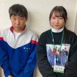 2021春 中学2年伊藤音羽さん福田先生