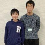 2021春 中学3年 大嶋駿太さん 山本先生