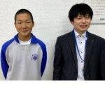 2021春 中学3年 佐々木駿之介さん 金村先生