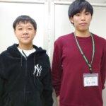 2021春 中学3年 髙落羽琉さん 冨田先生