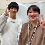 2021春 中学2年 才野彰哉さん 中尾先生