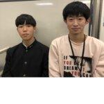 2021春 高校2年 江川陽太郎さん 富山先生