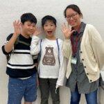 2021春 小学6年 (左)碓井颯真さん 戸田先生