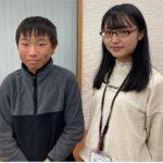 2021春 中学2年 畑建太朗さん 松平先生
