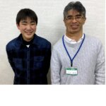 2021春 中学3年山﨑暖斗さん 大木先生
