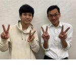 2021春 中学3年 藤井優斗さん 天笠先生