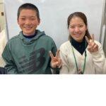 2021春 中学3年 遠田凌介さん 福井先生
