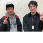 2021春 中学3年 岡田奨さん 谷口先生